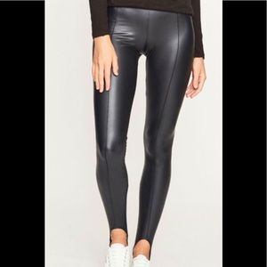 NWT ATM Glazed Jersey Stirrup Leggings Size S